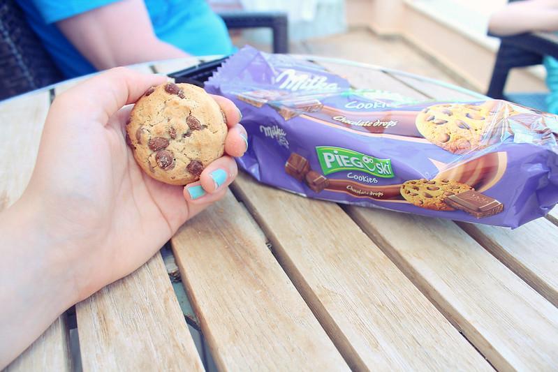 milka cookies