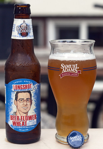 Review: Sam Adams' Longshot Beer Flower Wheat Ale by Cody La Bière