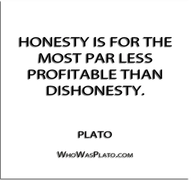 Honesty is for the most par less profita by plato like success - The most profitable orchards ...