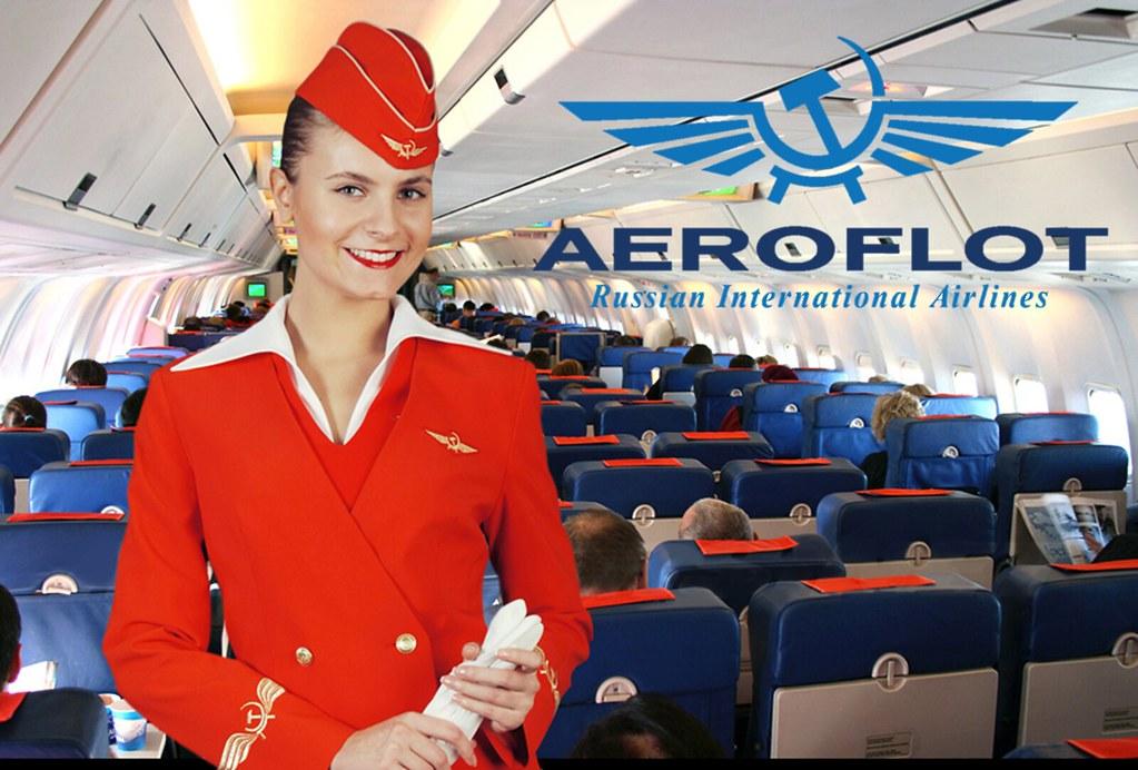 Aeroflot Flight Attendant Garrison Cap Reference