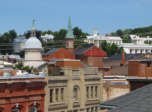 virginia downtown view staunton