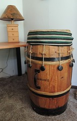 smileycreek's homemade soy sauce barrel drum