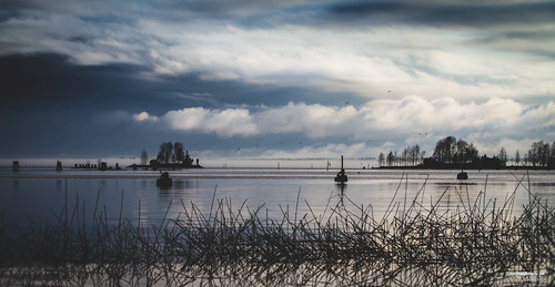 sky lake reflection water canon suomi finland landscape maisema joensuu pyhäselkä pielisjoki jokiasema valokuvaus