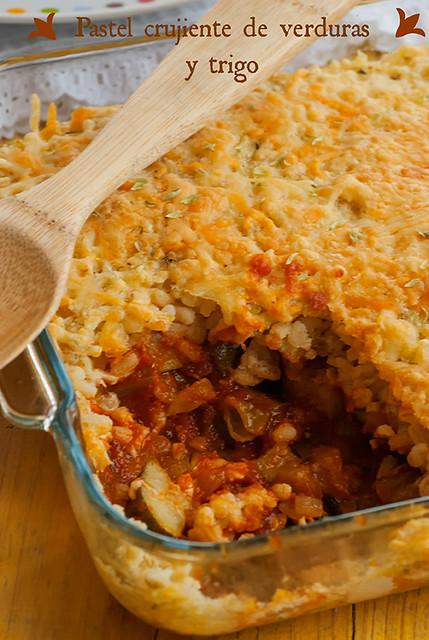Pastel crujiente de verduras y trigo_1_pic