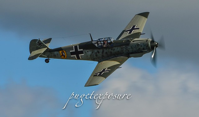 Messerschmitt Bf 109E-3 Low Pass