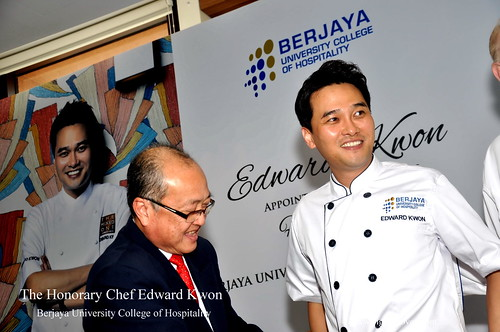 The Honorary Chef Edward Kwon of Berjaya University College of Hospitality 6