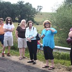 Fri, 08/02/2013 - 14:48 - Hearing stories at the John Hill and Mary Ann Watson Hill's farm.