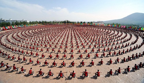 Wushu Performance, China