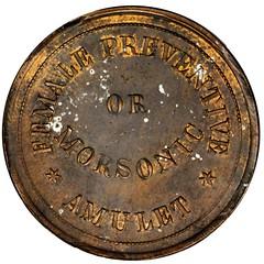 Lot  22480  Morsonic Amulet reverse