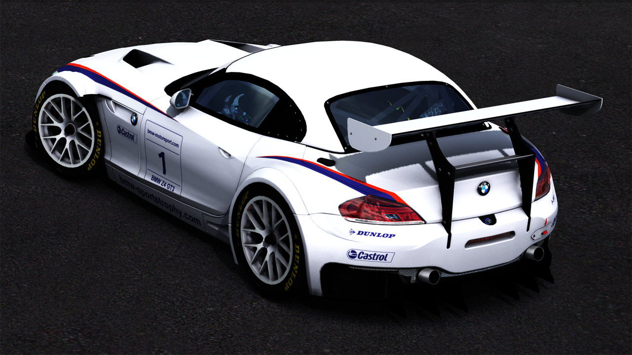 trackmania carpark view topic bmw z4 gt3 e89 bmw motorsport 1. Black Bedroom Furniture Sets. Home Design Ideas