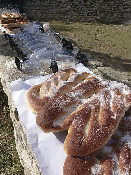 buffet de fougasses