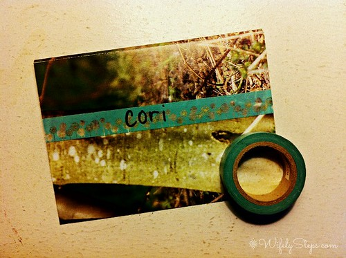 Washi Tape Label