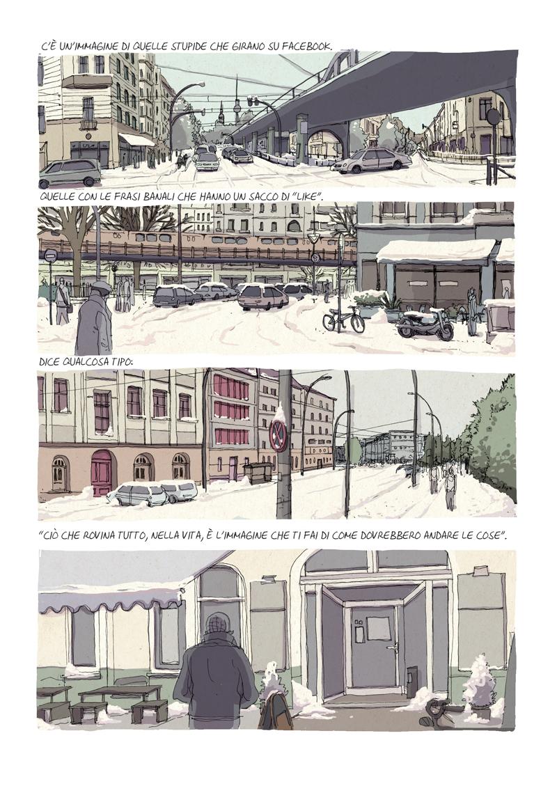 Alberto Madrigal Un lavoro vero winter