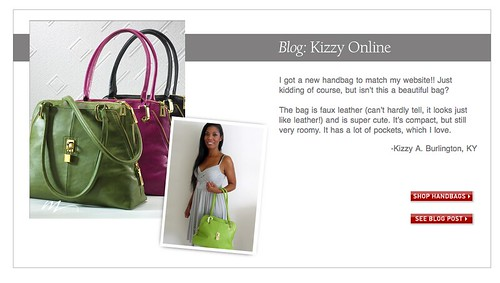 Midnight Velvet green padlock bag purse blogger blog review