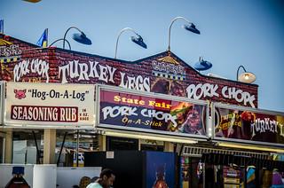 Turkey Legs and Pork Chops