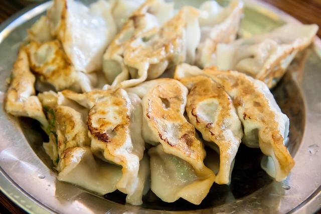 Fried dumplings, Lam Zhou