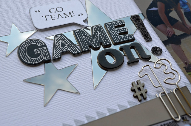 Game On Title Close-up