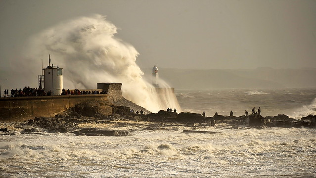 Stormy Porthcawl 27.October 2013.