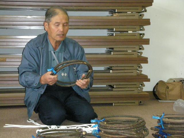 今回の講師ははらっぱー米やはらっぱー大根を生産されていることでもおなじみの坂井先生.