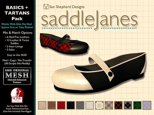 Saddle Janes Flats