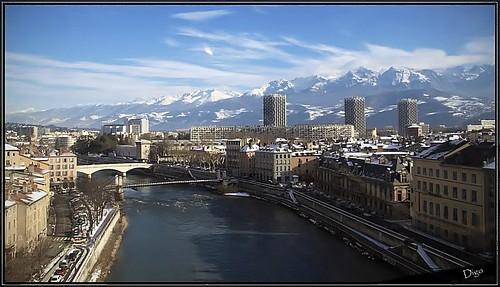 Grenoble dalla vita di Stendhal