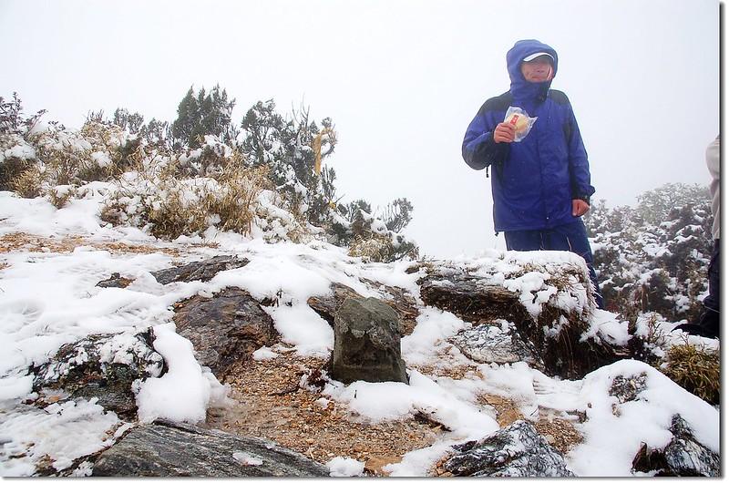 丹大山森林三角點(Elev. 3340 m) 2