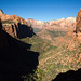 Zion Canyon From Observation Point, Zion NP, UT, September, 2013 by Norm Powell (napowell30d)