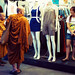 Monks Go Fashion Shopping by Jon Siegel