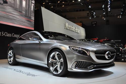 MERCEDES BENZ Concept S-Class Coupe