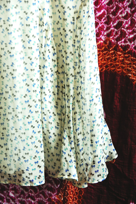 détail robe kookai
