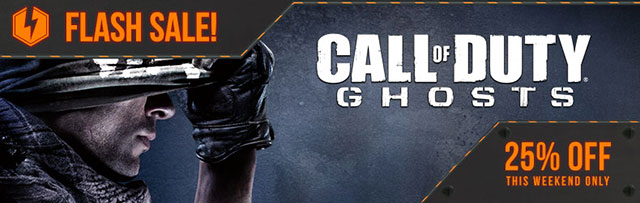 Call of Duty Ghosts Flash Sale