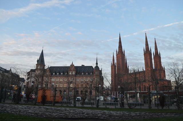 Wiesbaden Sternschnuppenmarkt Dern`sches Gelände