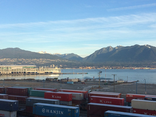 View from our new office in Vancouver