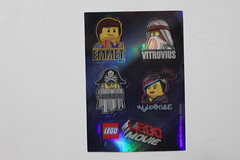 The LEGO Movie Accessory Pack Shiny Stickers