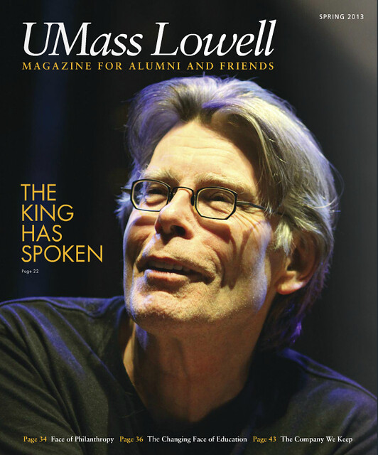 Stephen King Cover & Article Photos