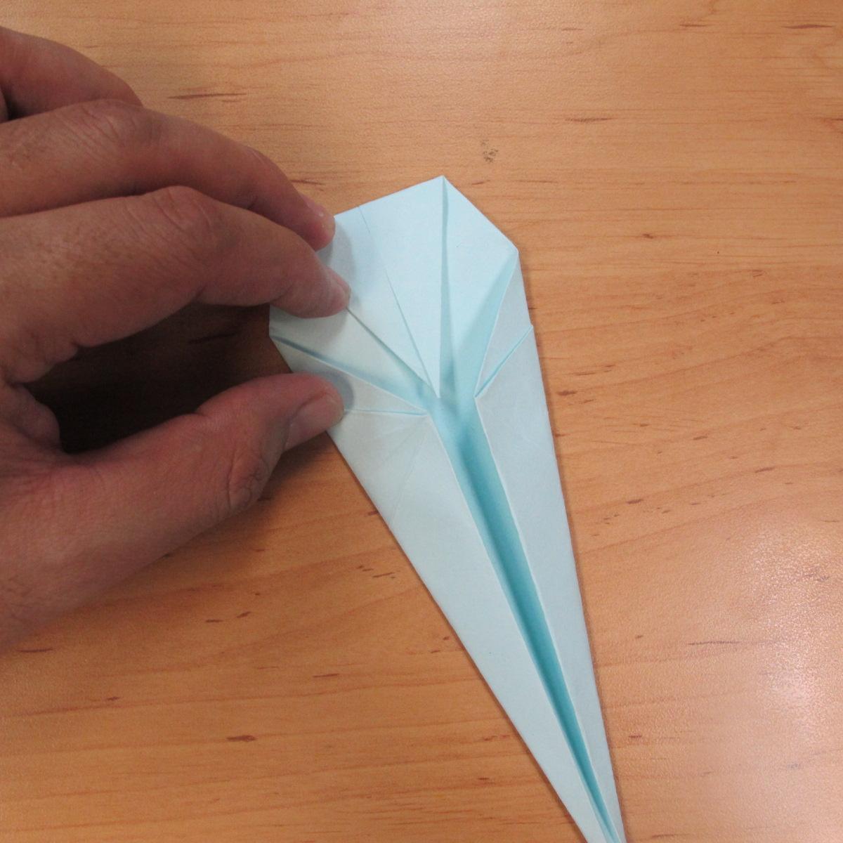 วิธีพับกระดาษเป็นรูปผีน้อย 010