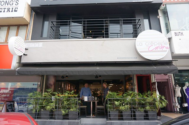 Le Creperie De Caroline, Bangsar - burger crepe