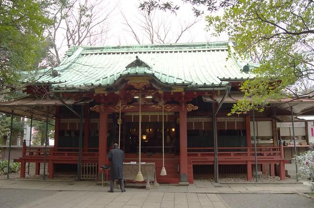 赤坂氷川神社 拝殿