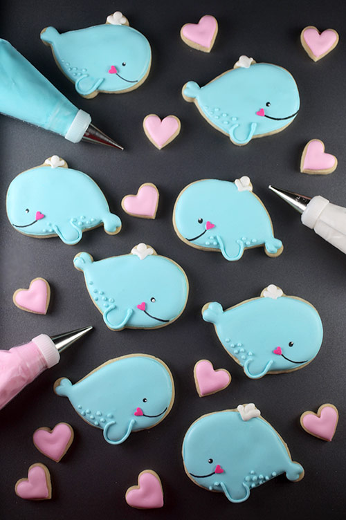 Whale Cookies