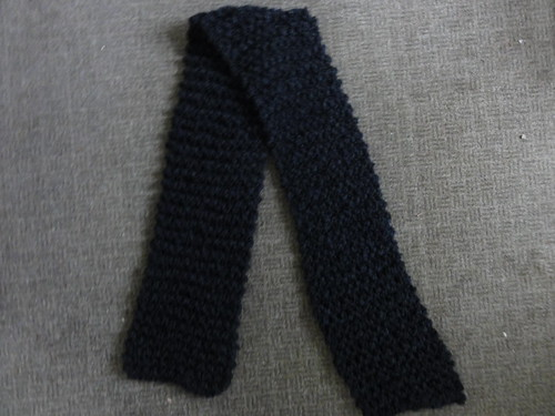 Black Birthday Scarf