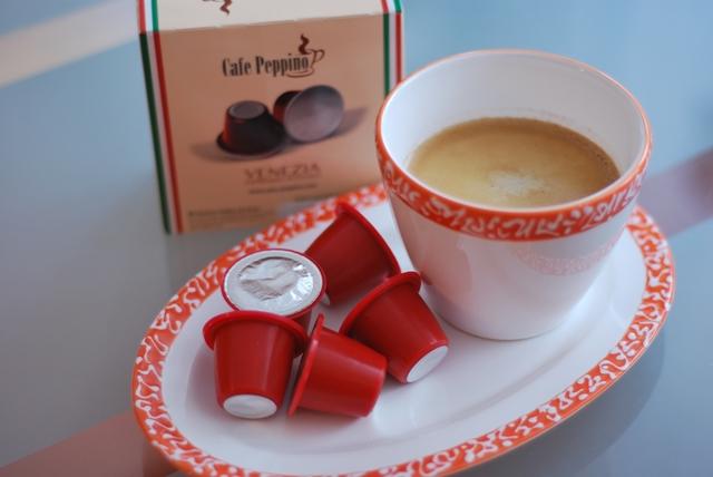 cafe peppino kaffeekapseln f r nespresso maschinen missxoxolat 39 s schokoladenseiten. Black Bedroom Furniture Sets. Home Design Ideas