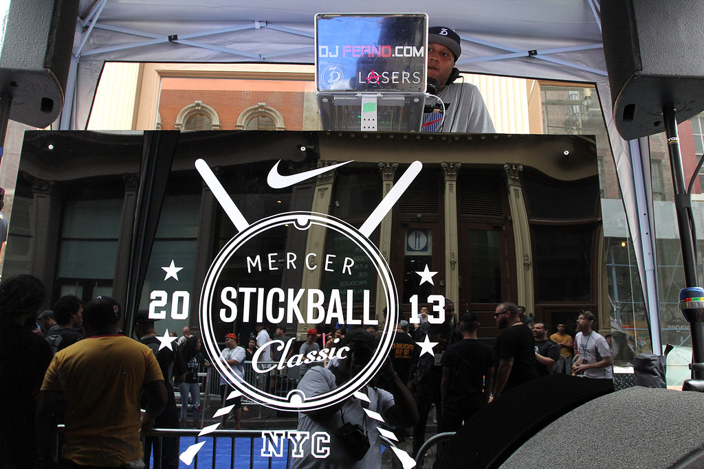 Nike's Mercer Stickball '13