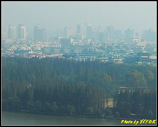 杭州 西湖 (其他景點) - 344 (從西湖十景之 雷峰塔上鳥瞰西湖十景之 柳浪聞鶯及市區)