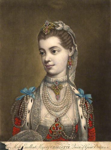 NPG D9089; Charlotte Sophia of Mecklenburg-Strelitz
