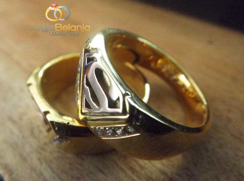 cincin perak superman