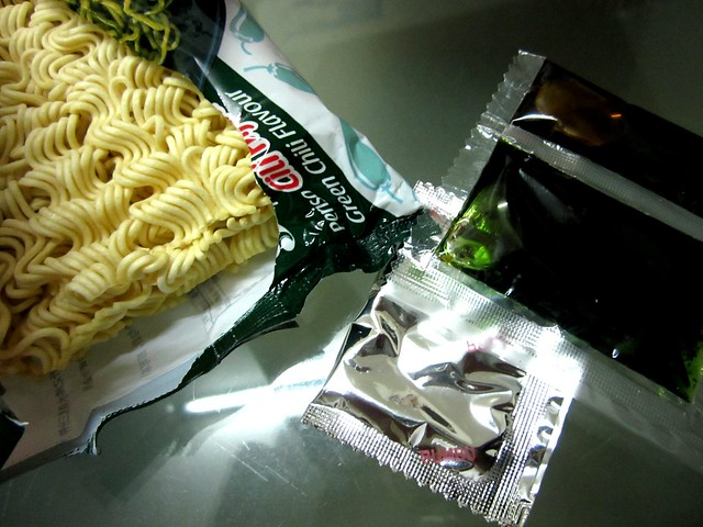 Indomie green chili flavour