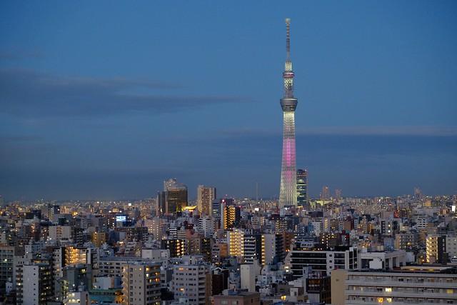 Spring evening sky | Tokio