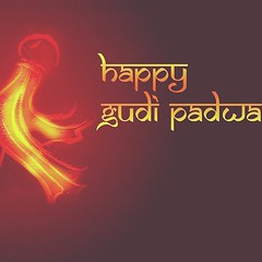 Happy Guḍhī Pāḍavā, New year according to the Hindu calendar - Jyoti.  #festivals #india #Hindu