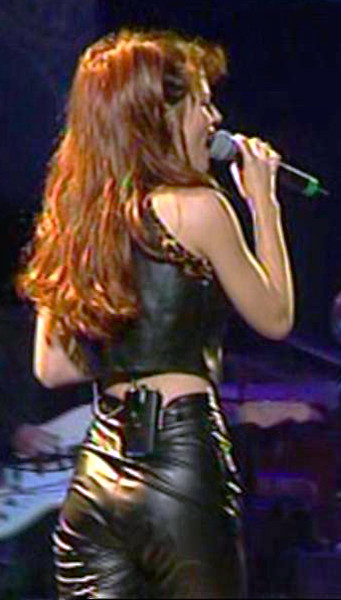 Shania Twain In Leather Pants Shania Twain In Leather