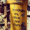 I remember you from the future. #nyc #streetart #grafitti by ShaneRoberts